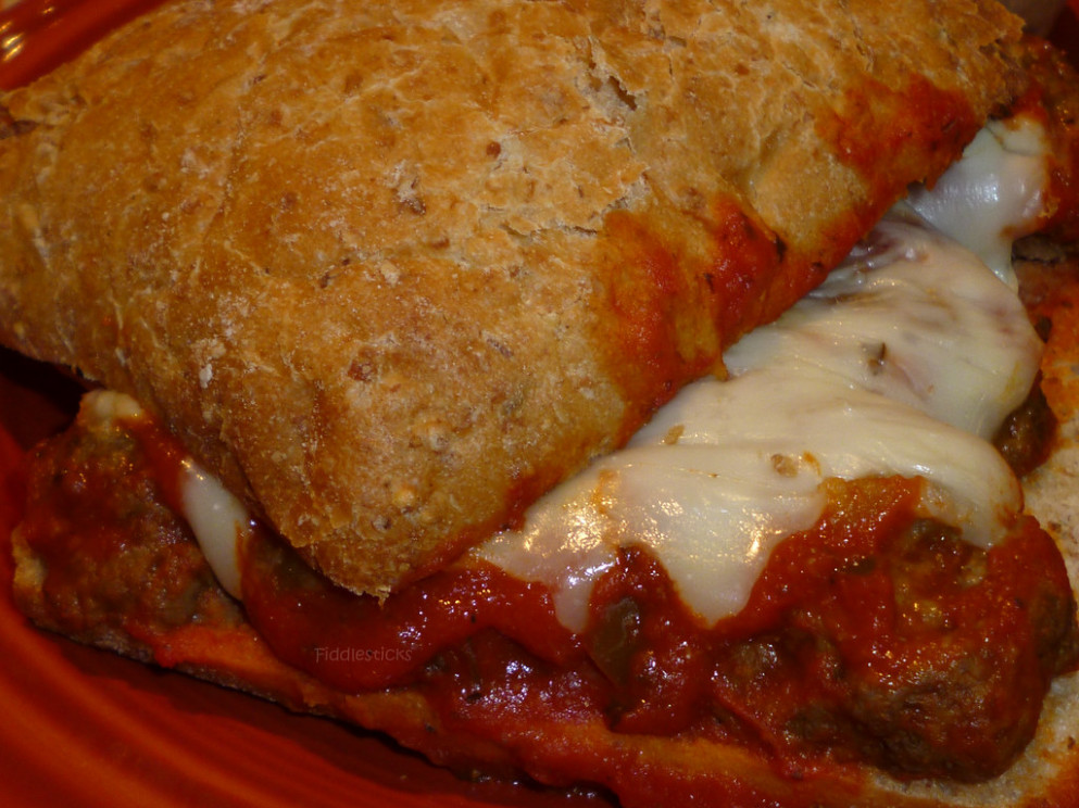 Ciabatta meatball sandwiches!!! - recipes homemade dinner rolls