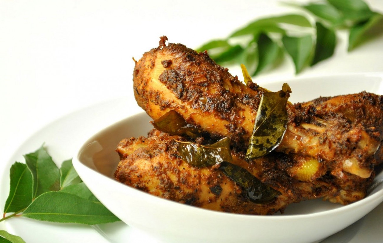 Cicken Fry - chicken recipes kerala