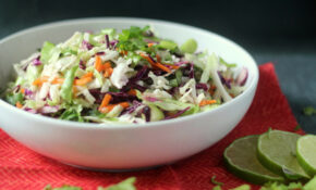 Cilantro Lime Cole Slaw – Blackberry Babe – Healthy Recipes Coles