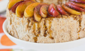 Cinnamon Angel Food Cake With Caramelized Apples – A Classic ..