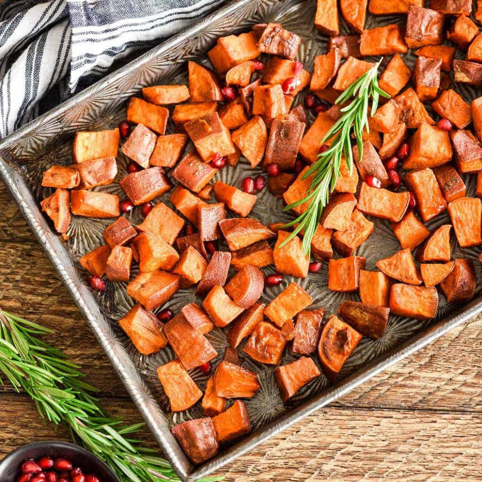 Cinnamon Maple Roasted Sweet Potatoes - recipes sweet potatoes healthy