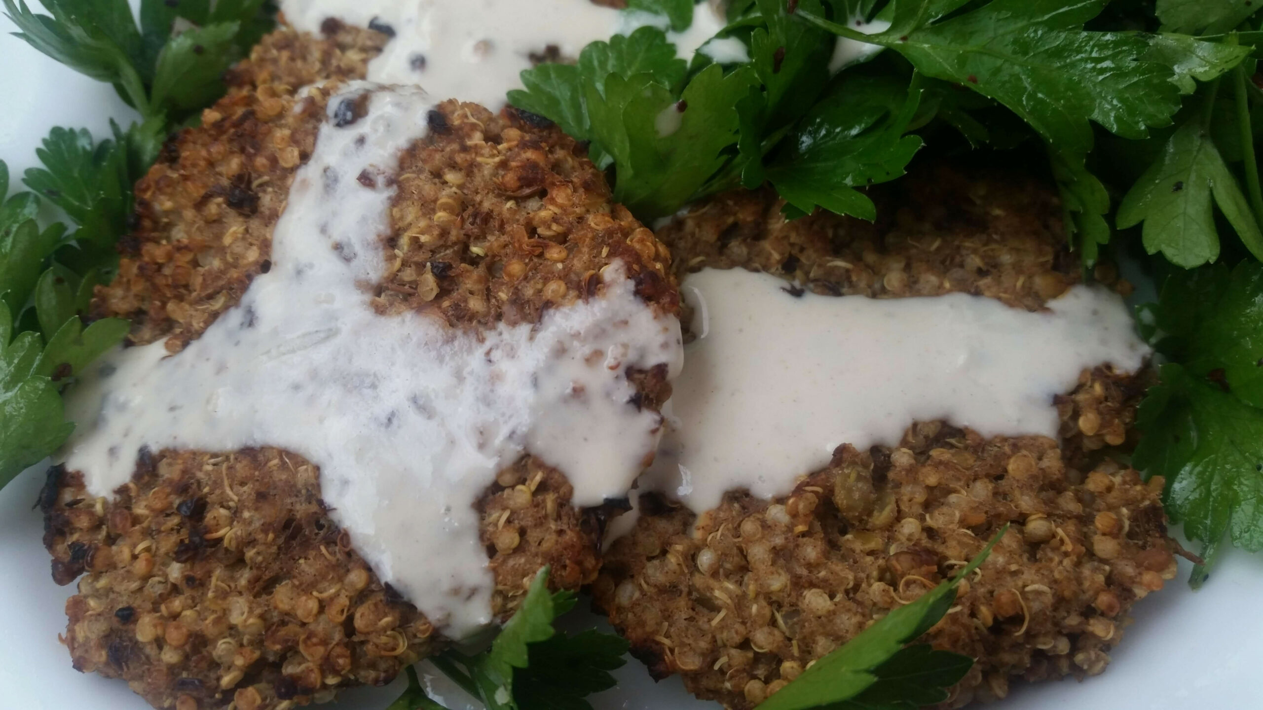 Cinnamon-Scented Lentil and Quinoa Patties - quinoa dinner recipes vegetarian