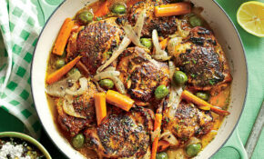Citrus Braised Chicken Thighs Recipe | MyRecipes – Dinner Recipes Yummly
