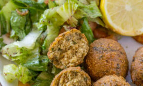 Classic Falafel Recipe No Canned Beans! – Dinner, Then Dessert – Middle Eastern Recipes Vegetarian