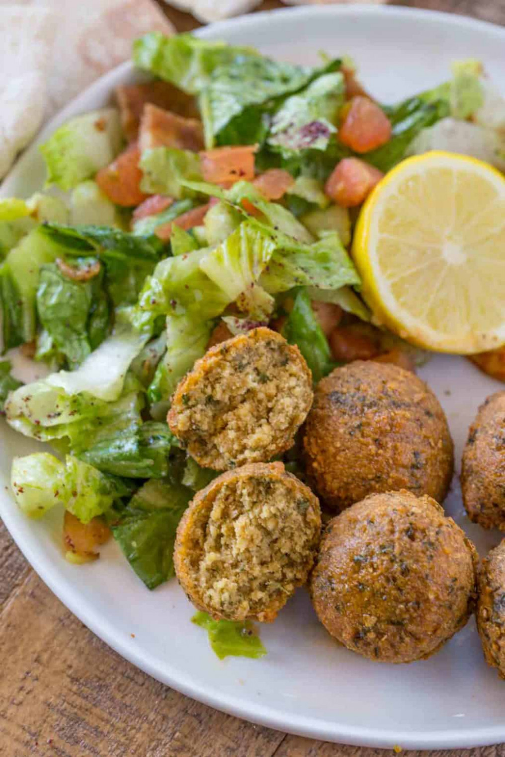 Classic Falafel Recipe No Canned Beans! - Dinner, then Dessert - middle eastern recipes vegetarian