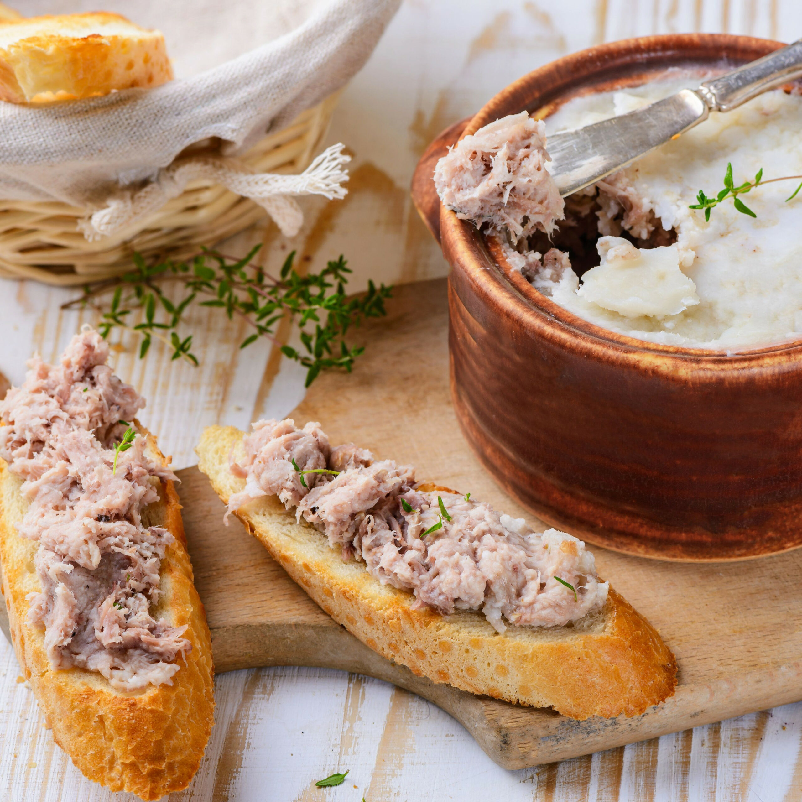 Classic French Pork Rillettes - french food recipes