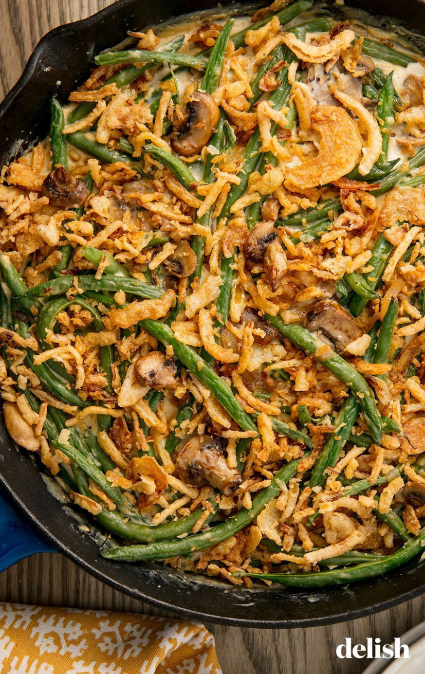 Classic Green Bean Casserole - recipes green bean casserole healthy