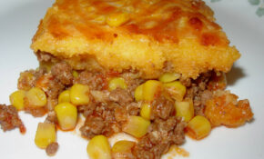 Classic Hamburger Corn Pie
