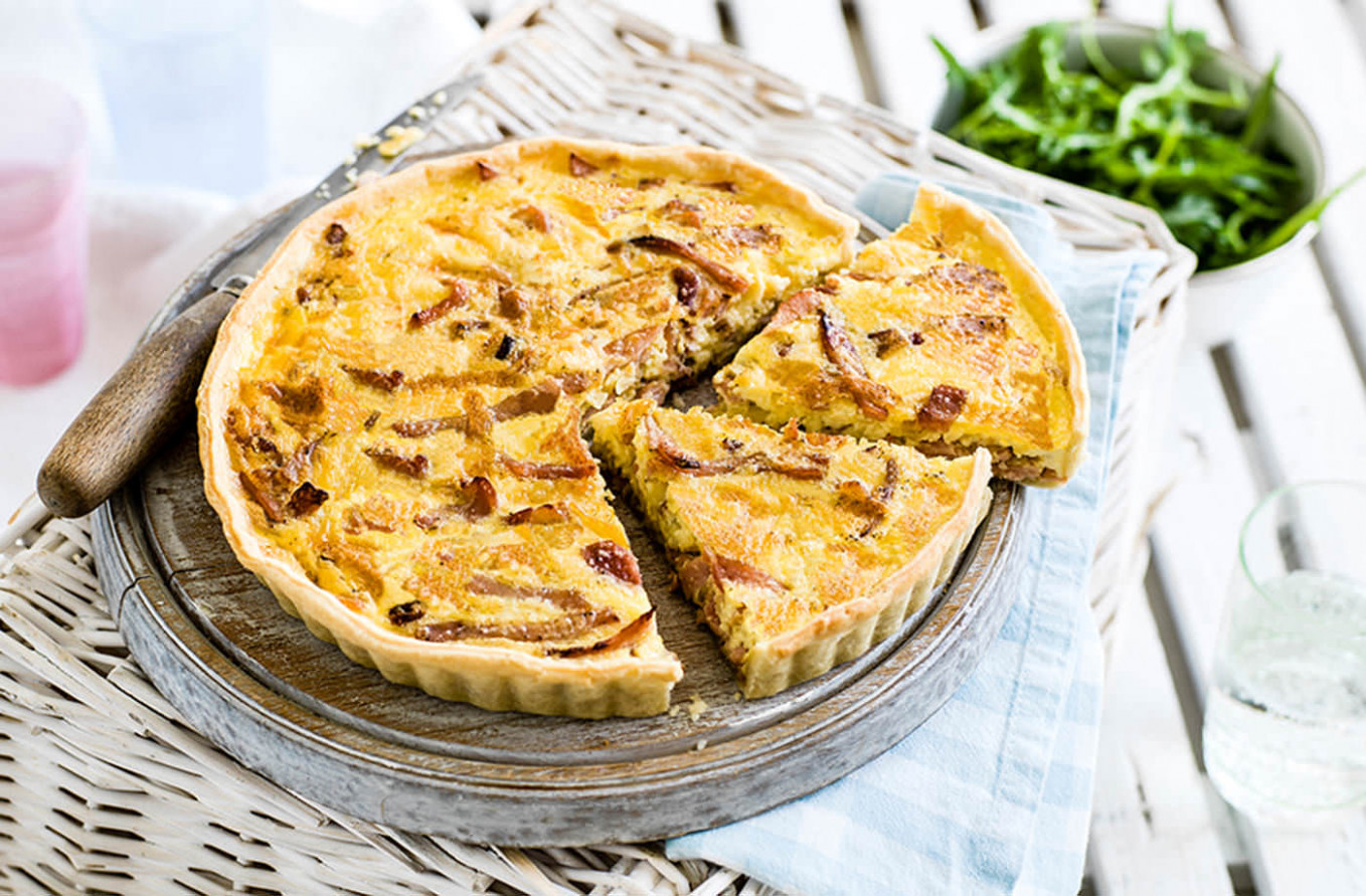 Classic quiche Lorraine - food recipes quiche