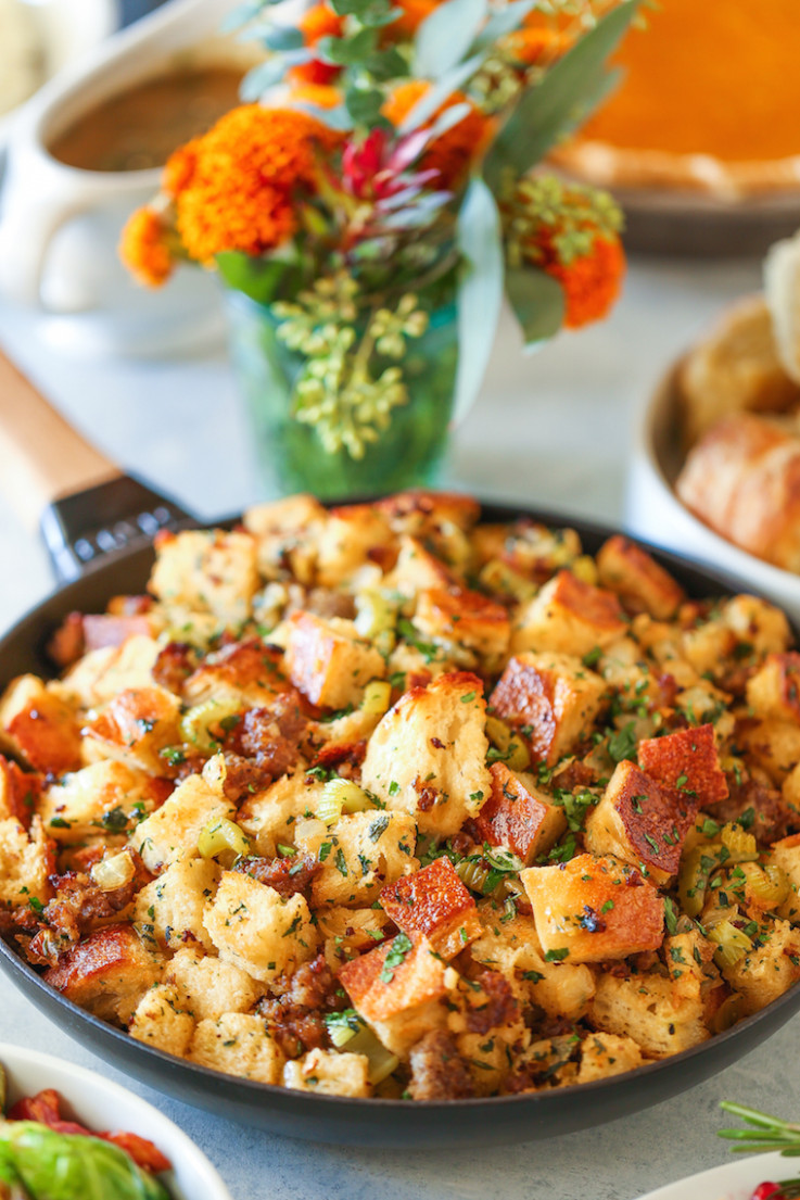Classic Thanksgiving Stuffing - food recipes classic wow