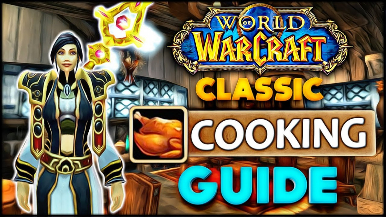 Classic Vanilla WoW Profession Overview/Guide: Cooking, First Aid - food recipes classic wow