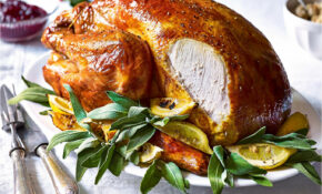 Classic Whole Roast Turkey With Sage And Black Pepper ..
