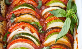 Clean Eating Ratatouille Recipe (Gluten Free) | A Clean Bake