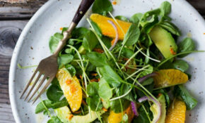 Cleansing Watercress And Citrus Salad With Fresh Turmeric ..