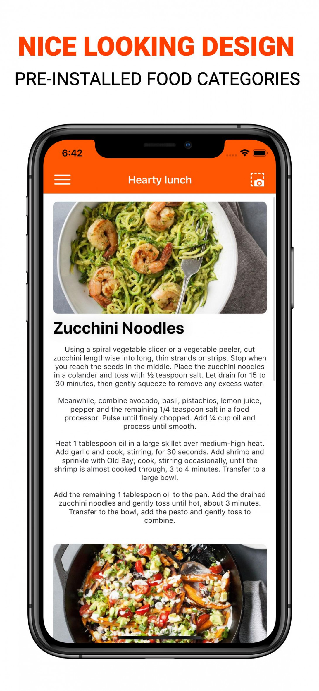 Coala Food - iOS Food Recipes App - food recipes app download