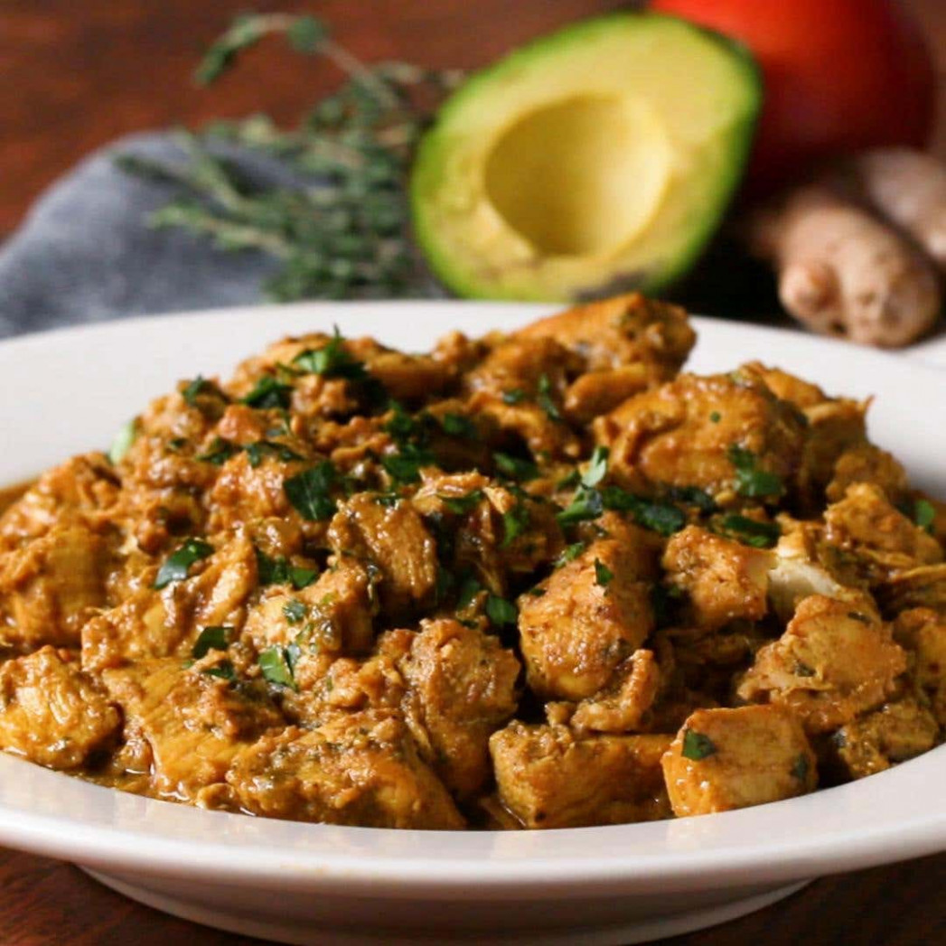 Coconut Chicken Curry Recipe by Tasty - chicken recipes quick and tasty