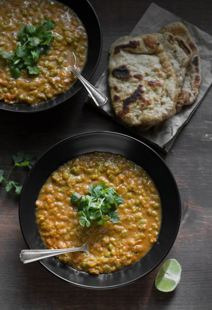 Coconut Curry Green Split Pea Soup | Recipe | Vegetarian ..