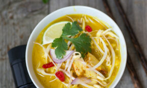 Coconut Curry Soup With Chicken – Tomami