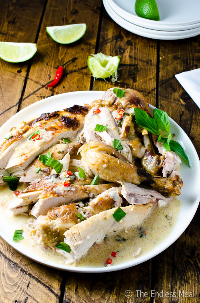 Coconut Milk Braised Chicken | The Endless Meal - chicken recipes with coconut milk