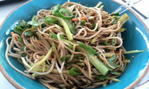 Cold Asian Noodle Salad With Matchstick Veggies – Recipes Of Healthy Meals