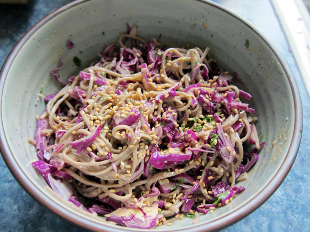 cold sesame noodles 2 - healthy recipes to try