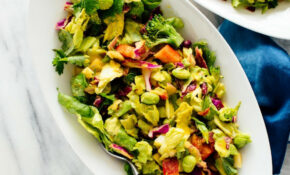 Colorful Chopped Salad With Carrot Ginger Dressing – Recipes Delicious And Healthy