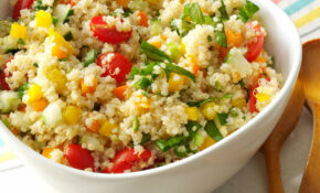 Colorful Quinoa Salad – Healthy Recipes Quinoa Salad