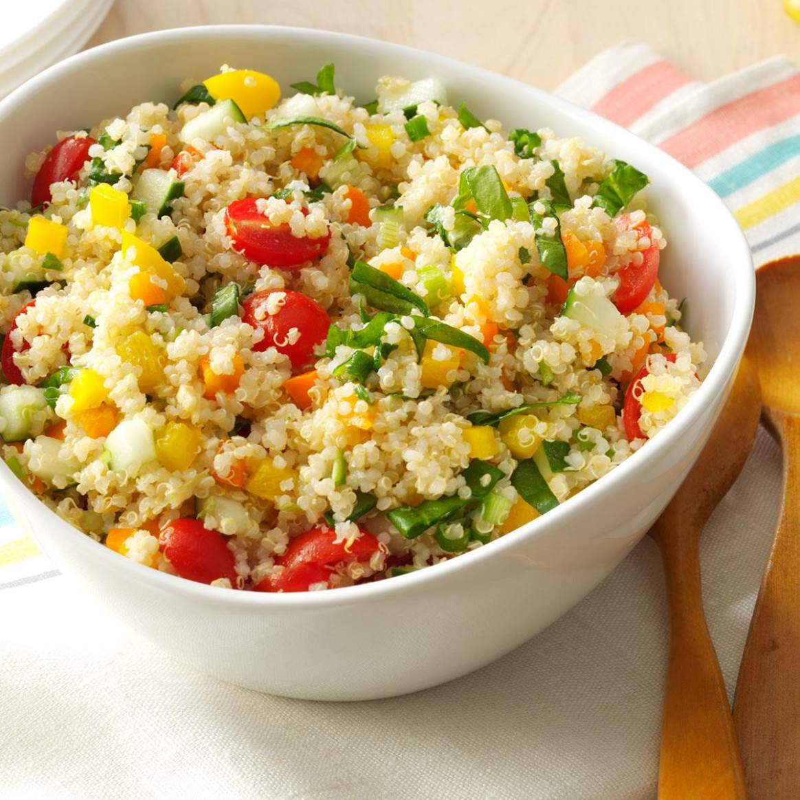 Colorful Quinoa Salad - healthy recipes quinoa salad