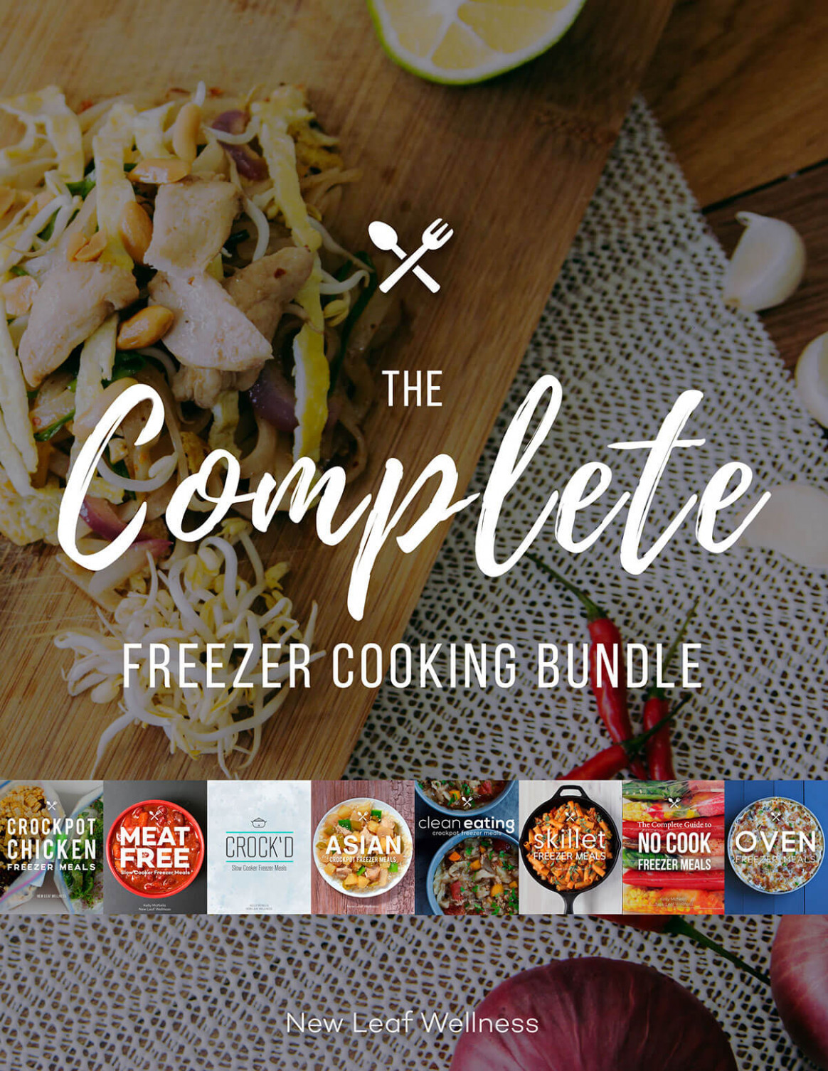 Complete Freezer Cooking Bundle - food recipes you can freeze