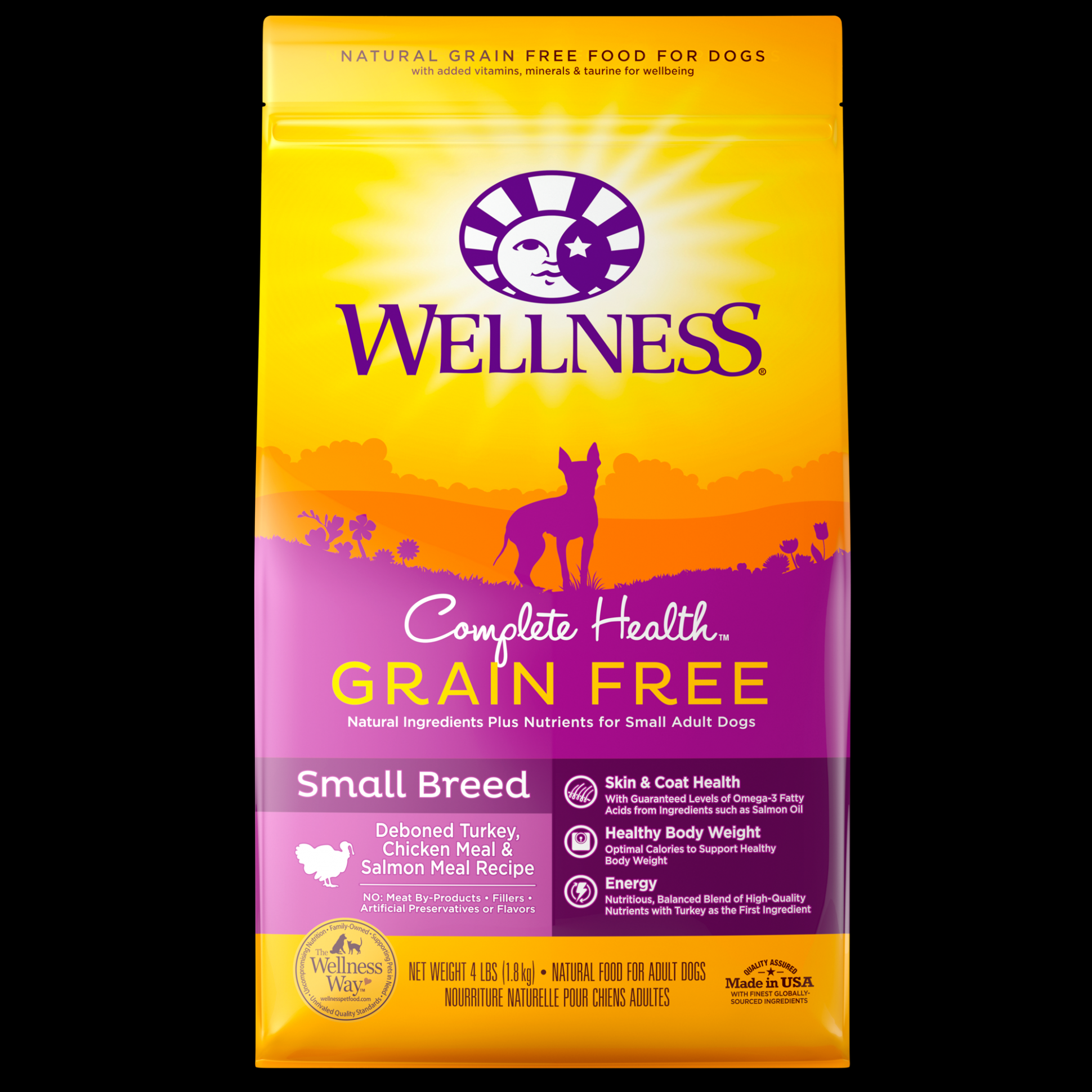 Complete Health Grain Free Small Breed | Wellness Pet Food - recipes dog food grain free