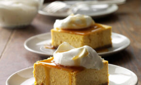 Contest Winning Pumpkin Cheesecake Dessert Recipe | Taste ..