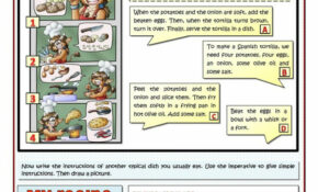 COOK TASTY FOOD – RECIPES AND IMPERATIVES – English ESL ..