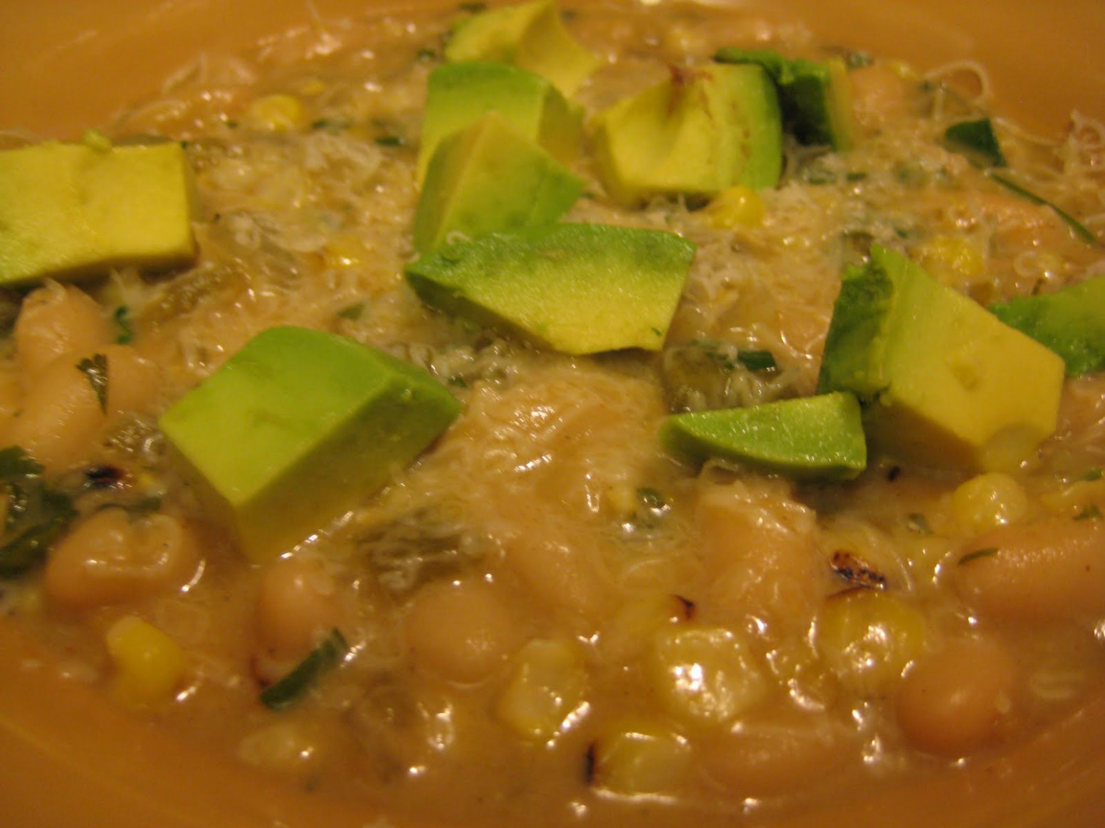 Cooking and Eating in the Windy City: Vegetarian White Chili - recipe vegetarian white chili