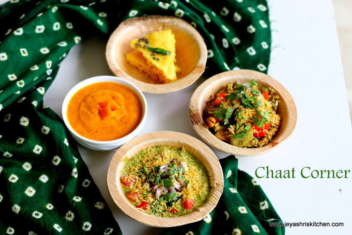 COOKING FOR GUESTS SERIES #20  CHAAT RECIPES   EVENING ..
