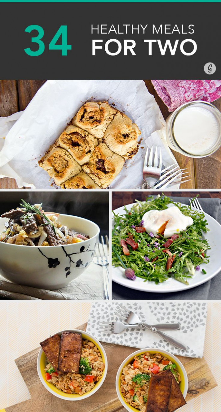 Cooking for Two: 15 Healthyish Meals for You and Your Boo ..