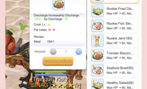 Cooking Guide | Kisty Mea – Food Recipes Ragnarok