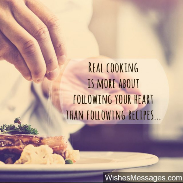 Cooking Quotes: Inspirational Messages for Chefs and ..