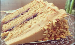 COOKING RECIPES FOR USA: Peanut Butter & Jelly Cake – Food Recipes Usa