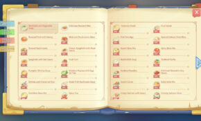 COOKING TIME With New RECIPES – My Time At Portia – Food Recipes My Time At Portia