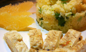 Cooking With Gousto – Honey Saffron Chicken With Mint ..