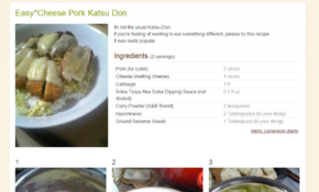 Cookpad's English Site Serves Up Japanese Food Recipes – Food Recipes In English