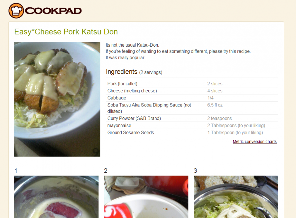 Cookpad's English Site Serves Up Japanese Food Recipes - Food Recipes In English