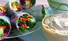 Cool Veggie Wraps Loving On The Marilyn Denis Show ..