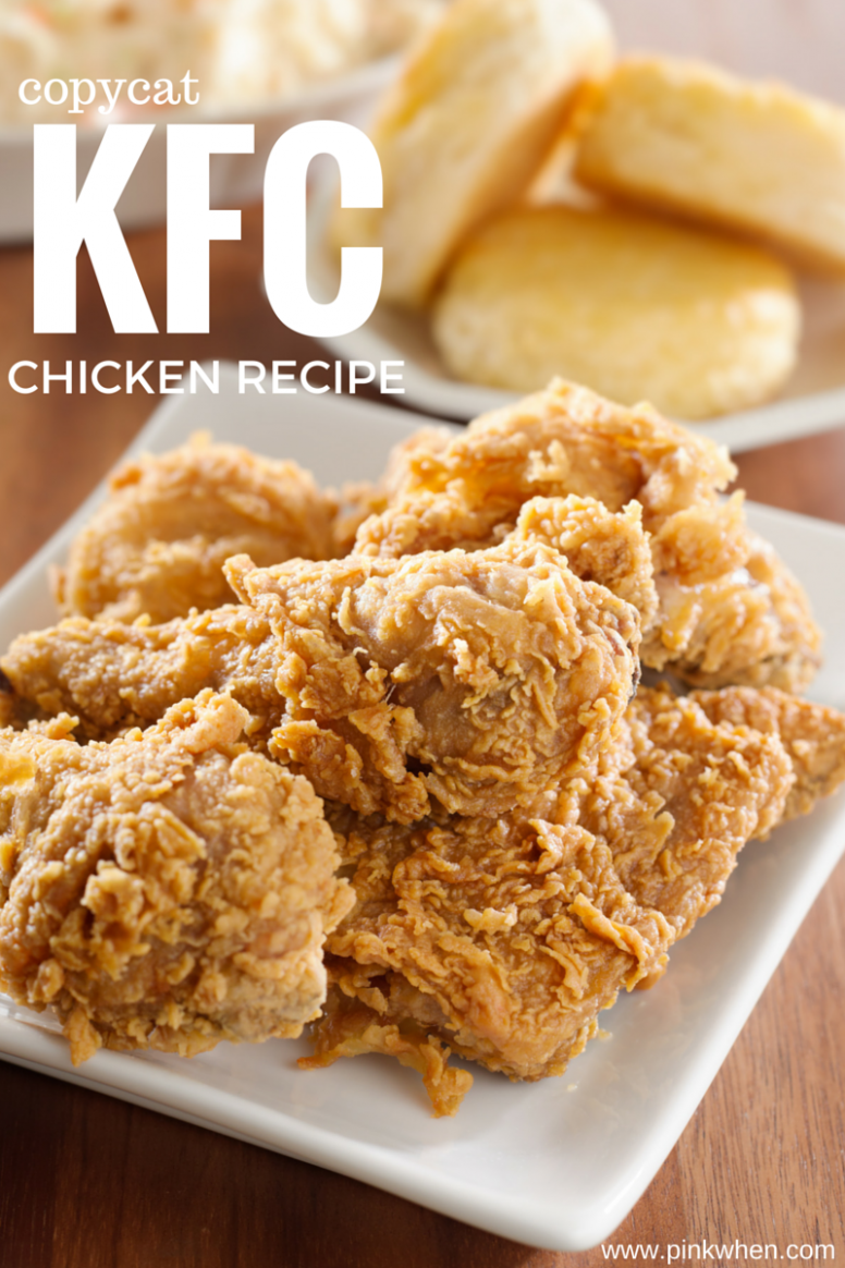 Copycat KFC Chicken - chicken recipes on pinterest