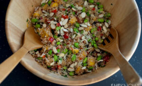 Copycat Whole Foods California Quinoa Salad – Unprocessed Food Recipes