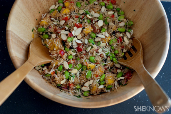 Copycat Whole Foods California quinoa salad - unprocessed food recipes