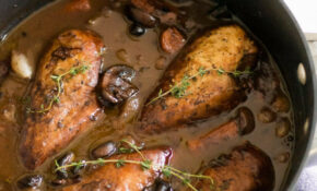 Coq au Vin (Red Wine Braised Chicken) | Sarcastic Cooking
