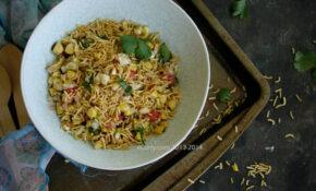 Corn And Peanut Chaat 1 – Healthy Fourth Of July Recipes