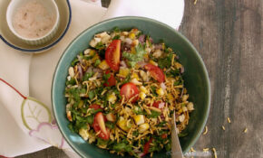 Corn And Peanut Chaat 3 – Recipes Vegetarian High Protein