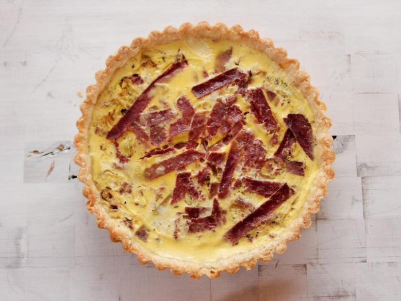 Corned Beef and Cabbage Quiche Recipe | Ree Drummond ..